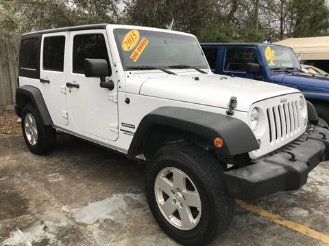 2015 Jeep Wrangler Unlimited for sale in Magnolia, TX