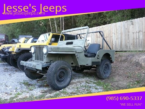 1948 Jeep Willys for sale in Slidell, LA