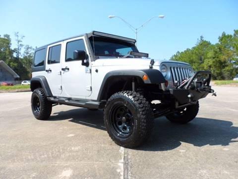 2012 Jeep Wrangler Unlimited for sale in Slidell, LA