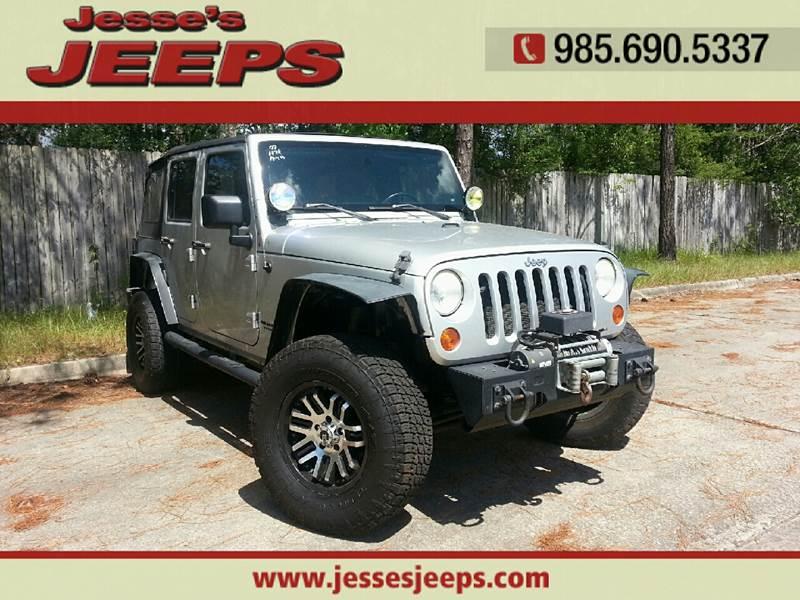 2007 Jeep Wrangler Unlimited 4x4 Rubicon 4dr SUV   Slidell LA