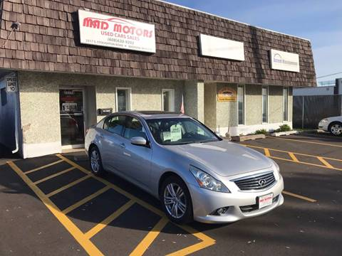 2010 Infiniti G37 Sedan for sale in Madison, WI