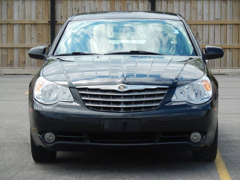 2007 chrysler sebring limited 4dr sedan 66489 miles black. Black Bedroom Furniture Sets. Home Design Ideas