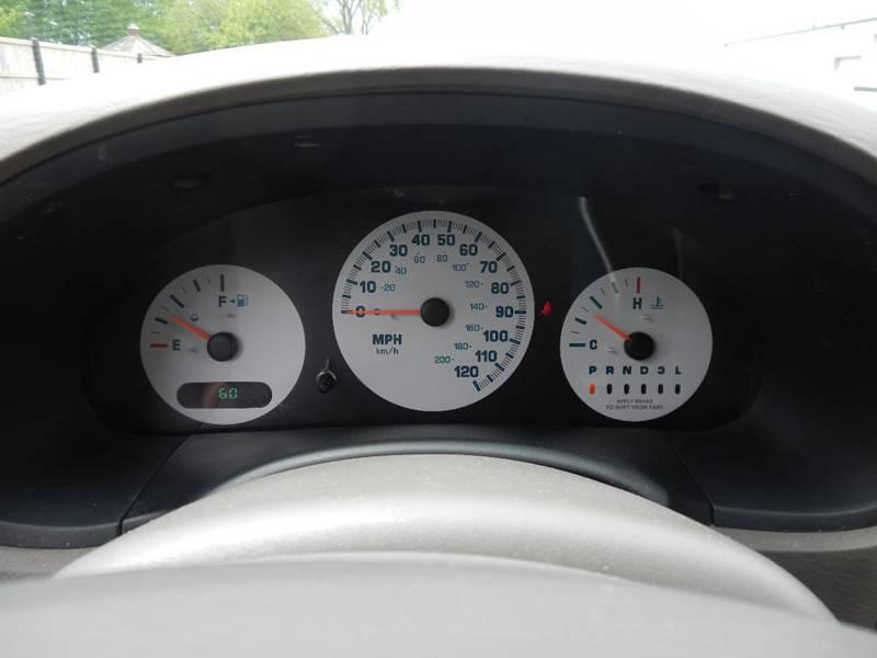 2003 Dodge Caravan for sale at Moto Zone Inc in Melrose Park IL