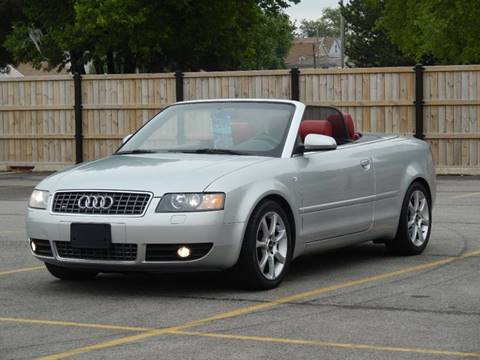 2004 Audi S4 for sale at Moto Zone Inc in Melrose Park IL