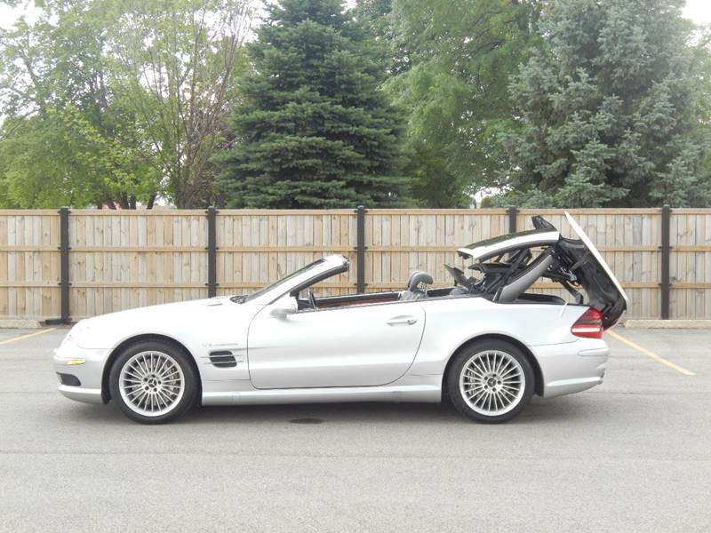 2003 Mercedes-Benz SL-Class for sale at Moto Zone Inc in Melrose Park IL