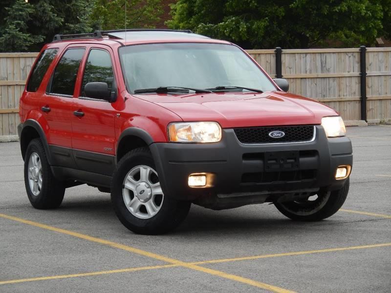 2002 Ford Escape for sale at Moto Zone Inc in Melrose Park IL