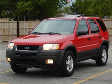 2002 Ford Escape for sale at Moto Zone Inc in Melrose Park IL
