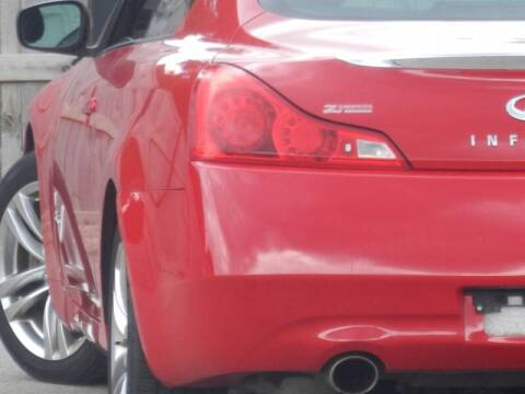 2009 Infiniti G37 Coupe for sale at Moto Zone Inc in Melrose Park IL