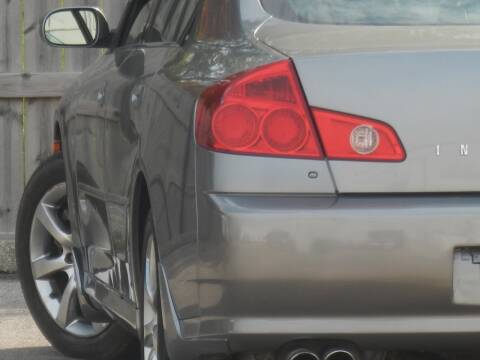 2006 Infiniti G35 for sale at Moto Zone Inc in Melrose Park IL
