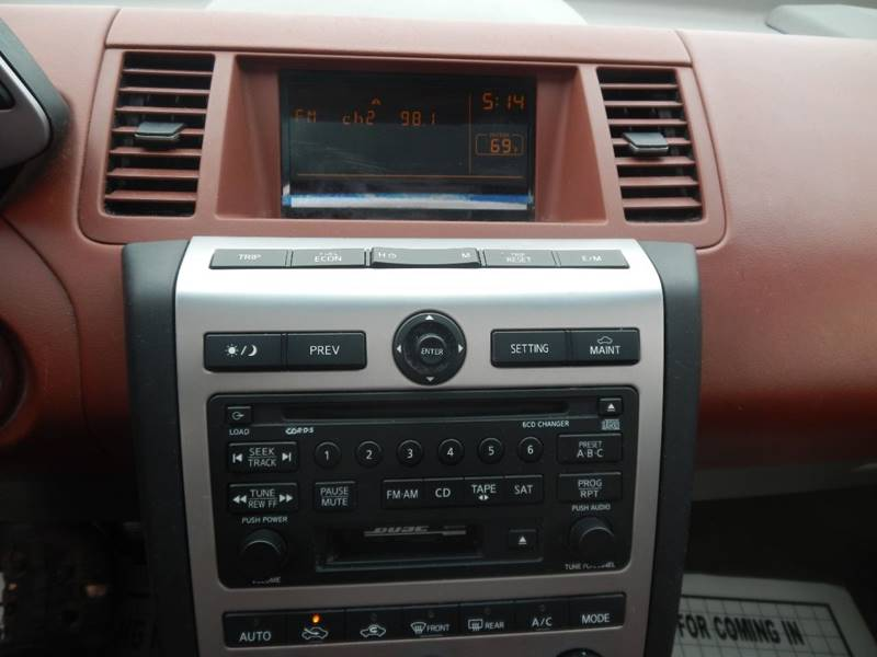 2004 Nissan Murano for sale at Moto Zone Inc in Melrose Park IL