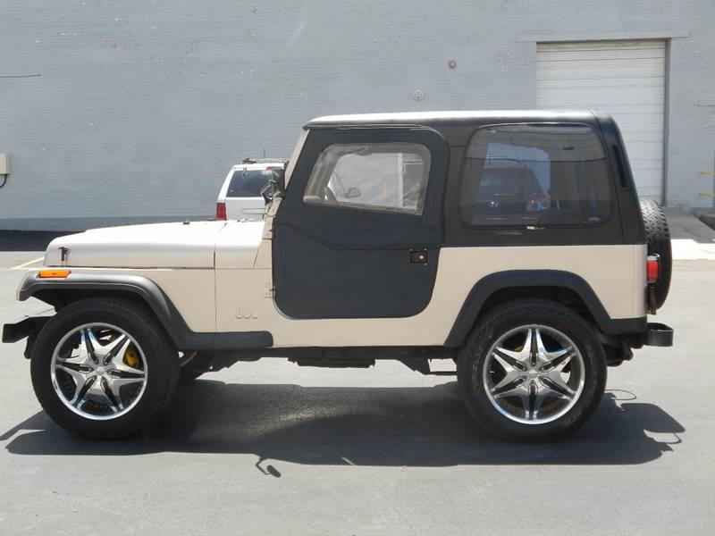 1995 Jeep Wrangler for sale at Moto Zone Inc in Melrose Park IL