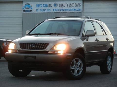 2000 Lexus RX 300 for sale at Moto Zone Inc in Melrose Park IL