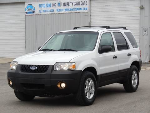 2007 Ford Escape for sale at Moto Zone Inc in Melrose Park IL