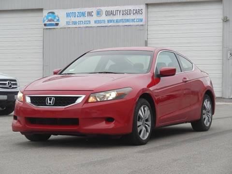 2008 Honda Accord for sale at Moto Zone Inc in Melrose Park IL
