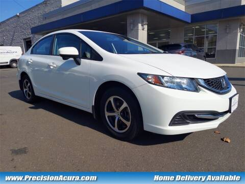 2015 Honda Civic for sale at Precision Acura of Princeton in Lawrenceville NJ