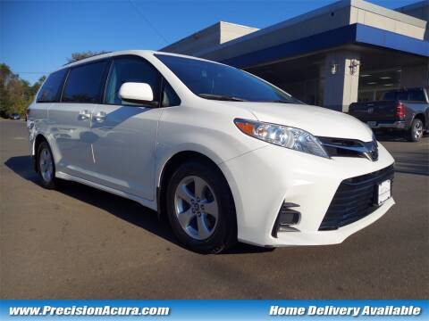 2018 Toyota Sienna for sale at Precision Acura of Princeton in Lawrenceville NJ