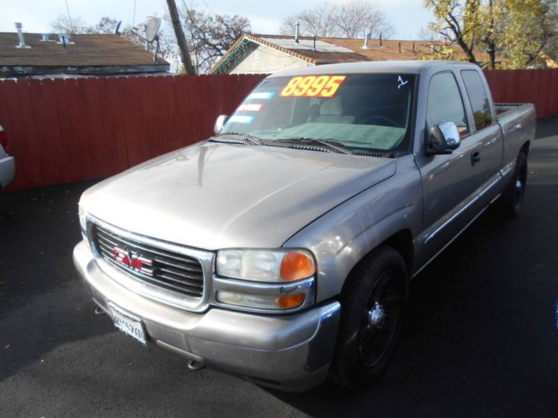 2001 gmc sierra 1500 4dr extended cab sl 2wd sb in stockton ca mega motors. Black Bedroom Furniture Sets. Home Design Ideas