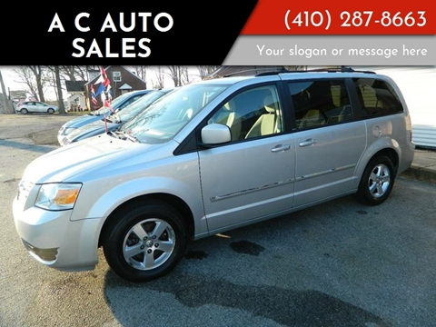 2008 Dodge Grand Caravan for sale at A C Auto Sales in Elkton MD