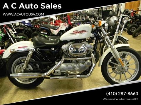 2001 Harley-Davidson sporster for sale in Elkton, MD