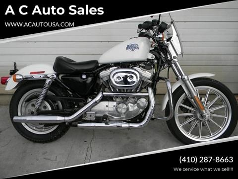 2002 Harley-Davidson Sportster for sale in Elkton, MD