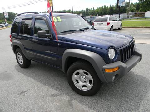 2003 Jeep Liberty for sale in Elkton, MD