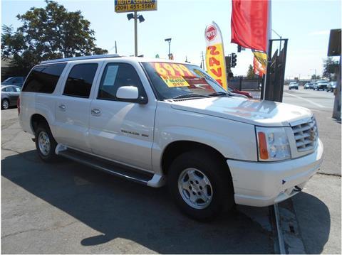 2003 Cadillac Escalade ESV for sale in Stockton CA