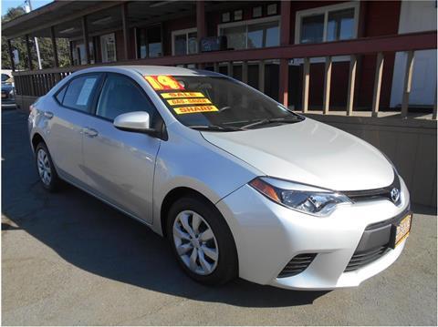 2014 Toyota Corolla for sale in Stockton CA
