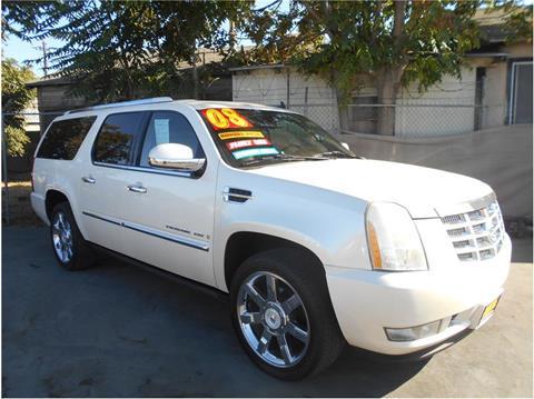 2008 Cadillac Escalade ESV for sale in Stockton CA