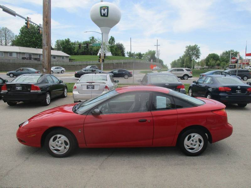 2002 Saturn S Series Sc1 3dr Coupe In Marion Ia Kings Kars