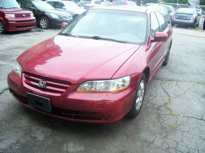 2002 Honda Accord for sale at Dambra Auto Sales in Providence RI