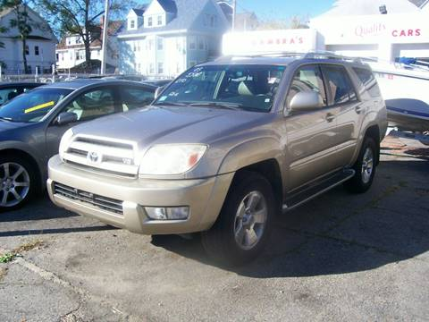 2003 Toyota 4Runner for sale at Dambra Auto Sales in Providence RI