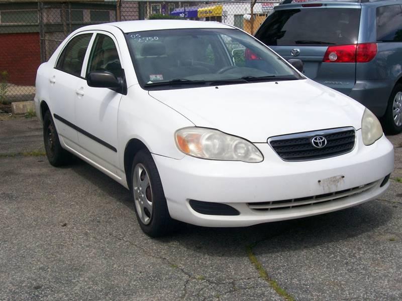 2005 corolla engine options