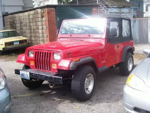 1992 Jeep Wrangler for sale in Providence, RI