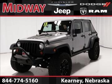 2013 Jeep Wrangler Unlimited for sale in Kearney, NE
