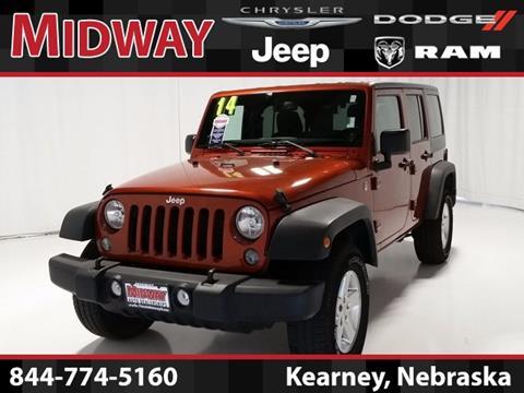 2014 Jeep Wrangler Unlimited for sale in Kearney, NE