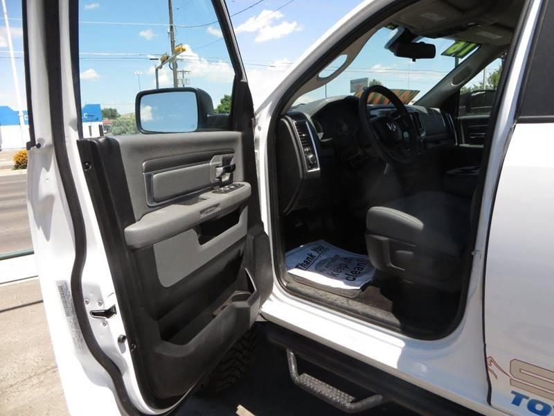 2016 RAM Ram Pickup 2500 4x4 SLT 4dr Crew Cab 6.3 ft. SB Pickup - Farmington NM