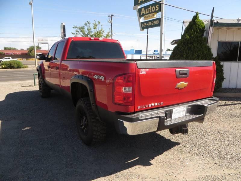 2012 Chevrolet Silverado 2500HD 4x4 Work Truck 4dr Crew Cab LB - Farmington NM