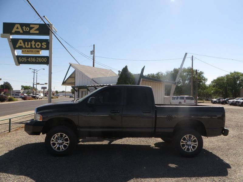 2004 Dodge Ram Pickup 2500 4dr Quad Cab Laramie 4WD SB - Farmington NM