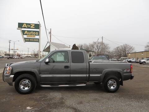 2001 GMC Sierra 2500 for sale in Farmington, NM