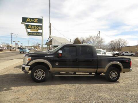 2011 Ford F-250 Super Duty Lariat for sale at A to Z Autos in Farmington NM
