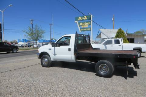 2000 Ford F-350 Super Duty for sale at A to Z Autos in Farmington NM
