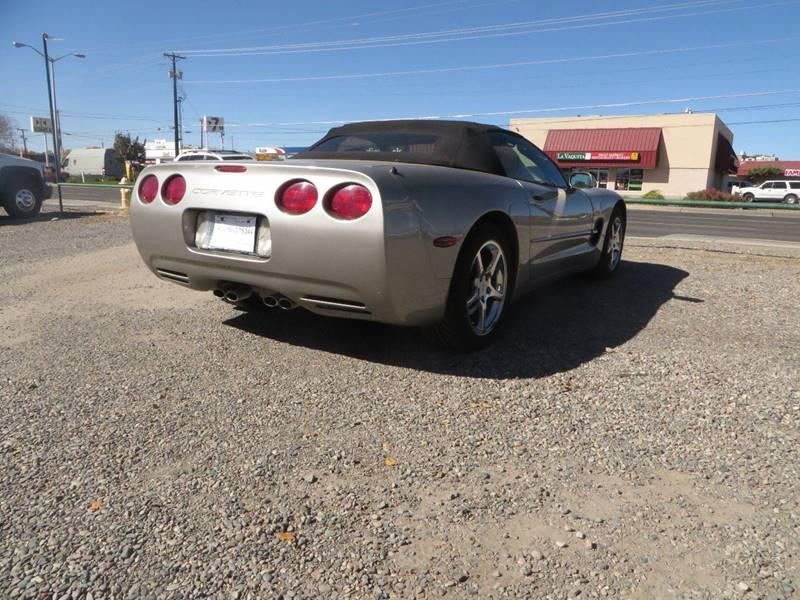 2002 Chevrolet Corvette 2dr Convertible - Farmington NM