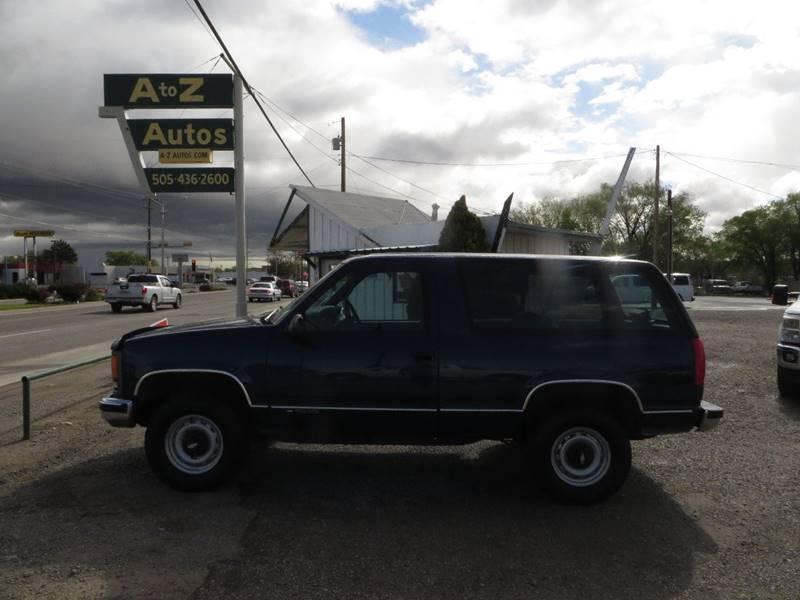 1997 Chevrolet Tahoe 2dr LS 4WD SUV - Farmington NM