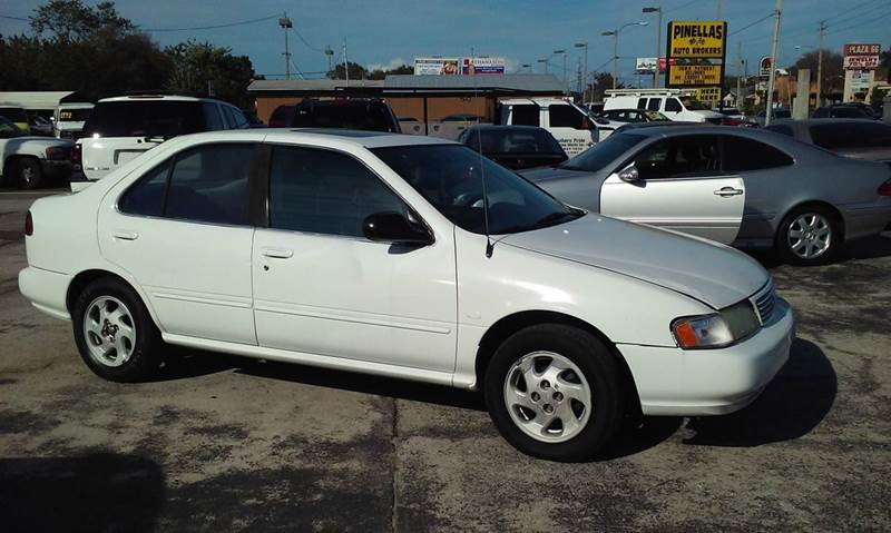 1995 Nissan Sentra for sale at Pinellas Auto Brokers in Saint Petersburg FL
