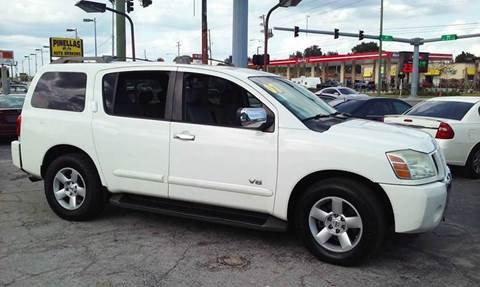 2007 Nissan Armada for sale at Pinellas Auto Brokers in Saint Petersburg FL