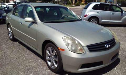 2006 Infiniti G35 for sale in Saint Petersburg, FL