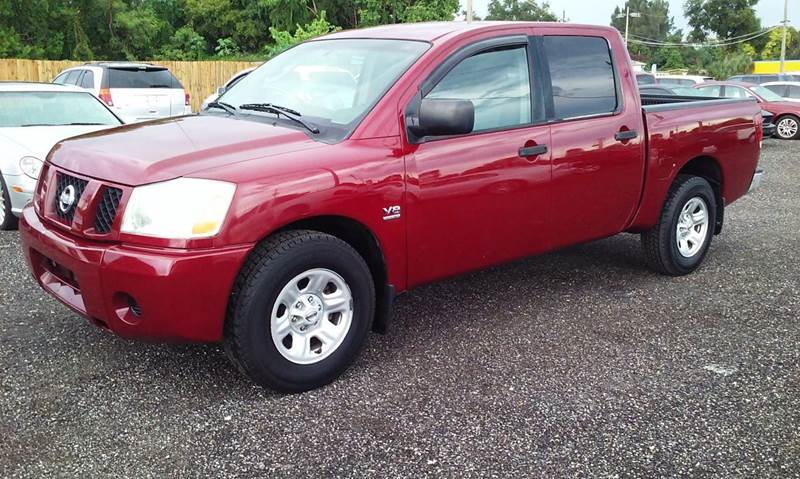 2004 Nissan Titan for sale at Pinellas Auto Brokers in Saint Petersburg FL