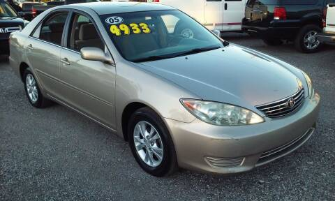 2005 Toyota Camry for sale at Pinellas Auto Brokers in Saint Petersburg FL