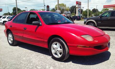 1998 Pontiac Sunfire for sale at Pinellas Auto Brokers in Saint Petersburg FL