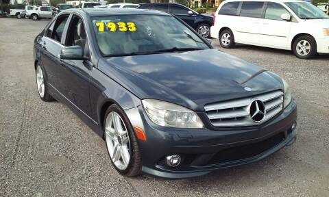 2010 Mercedes-Benz C-Class for sale at Pinellas Auto Brokers in Saint Petersburg FL